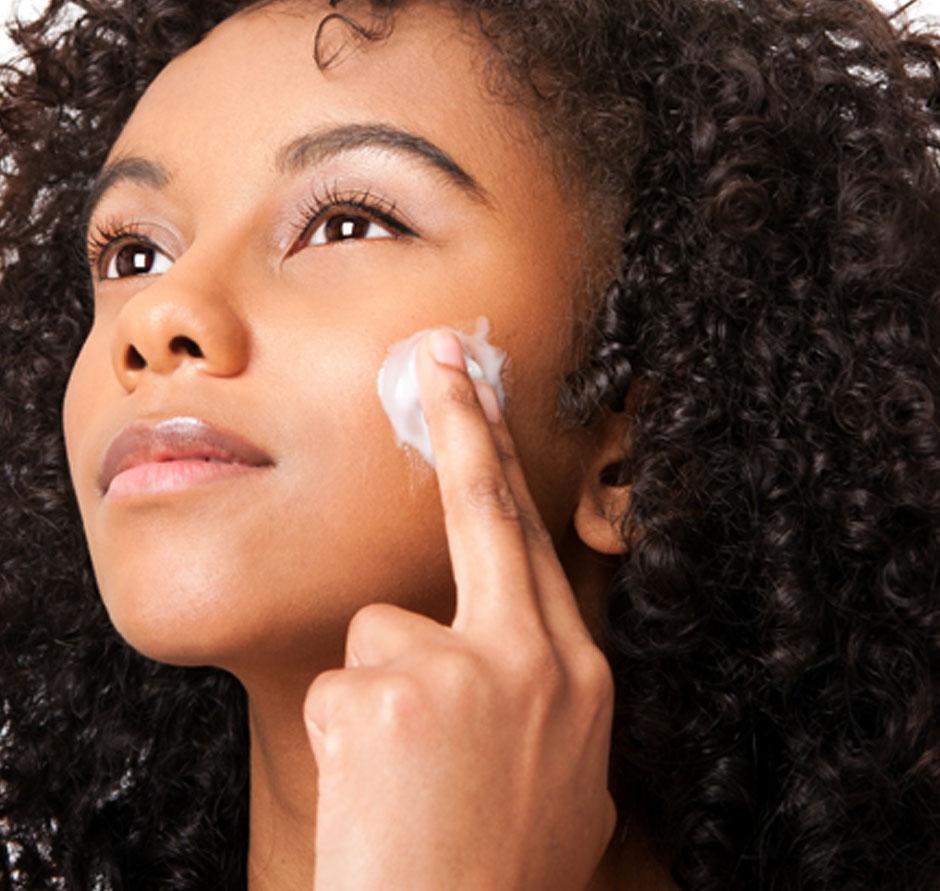 traitement peau noire
